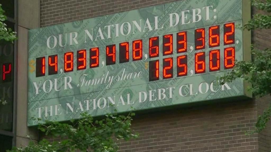 Dluhy Spojených států
