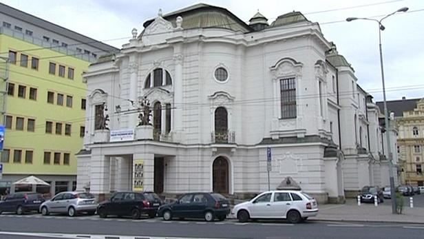 Budova ústeckého divadla