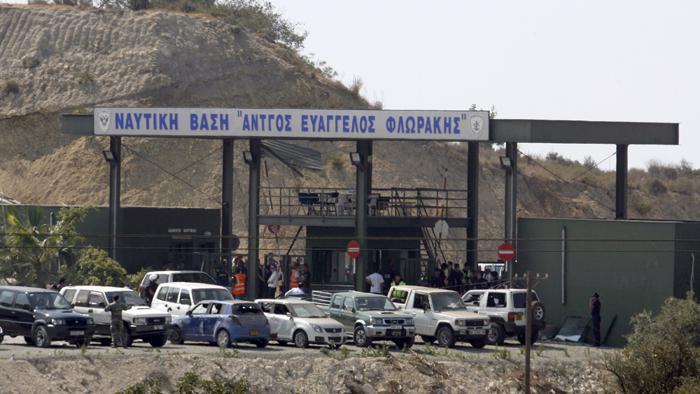 Na námořní základně na Kypru explodovala munice