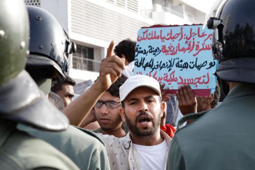 Demonstrace v Maroku za větší rozsah ústavních reforem