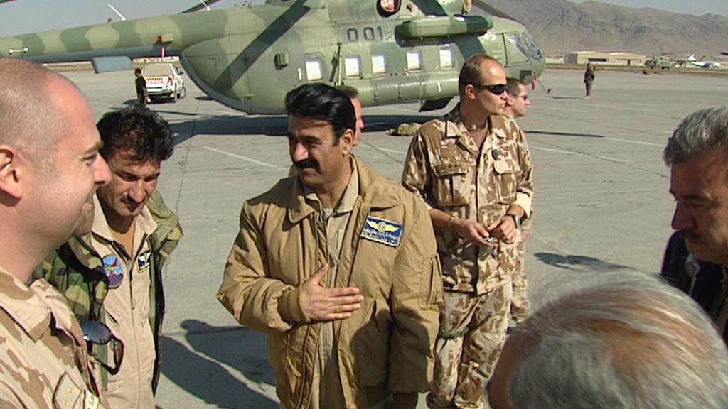 Budoucí piloti vrtulníku Mi-17