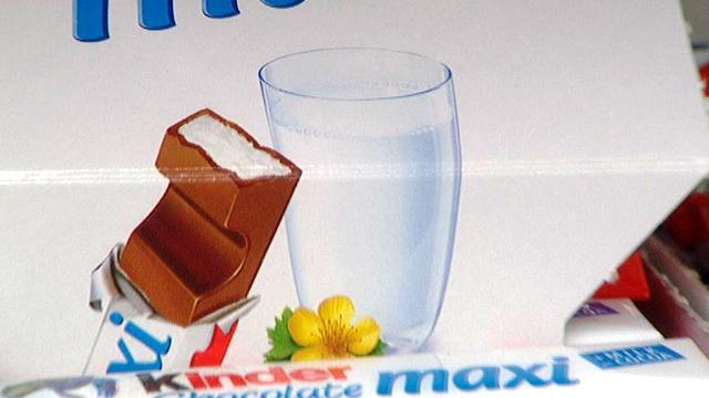 Kinder čokoláda