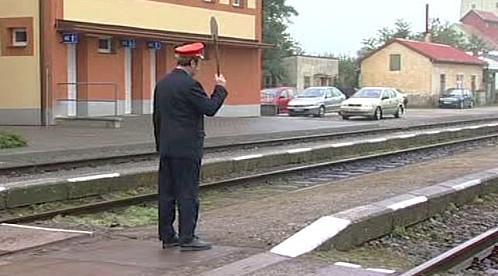 Provoz na železnici