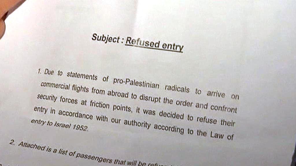 Zákaz vstupu aktivistům