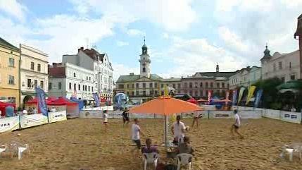 Plážový volejbal v Těšíně