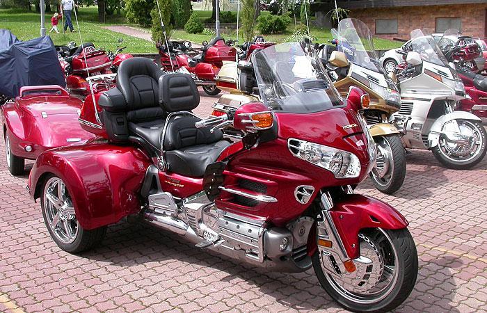Motocykly Gold Wing