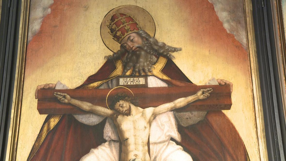Oltář sv. Trojice