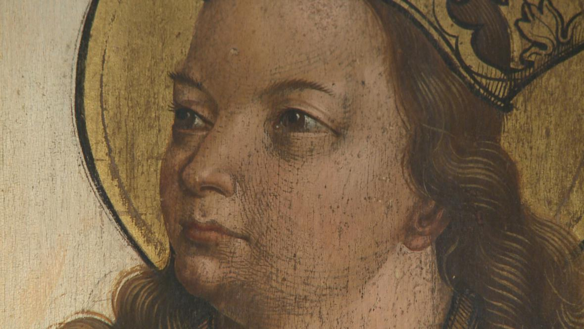 Oltář sv. Trojice (detail)
