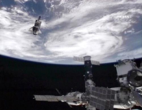 Raketoplán Atlantis u ISS