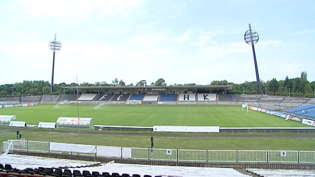 Fotbalový stadion v Hradci Králové