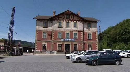 Nádražní budova v Ústí nad Orlicí