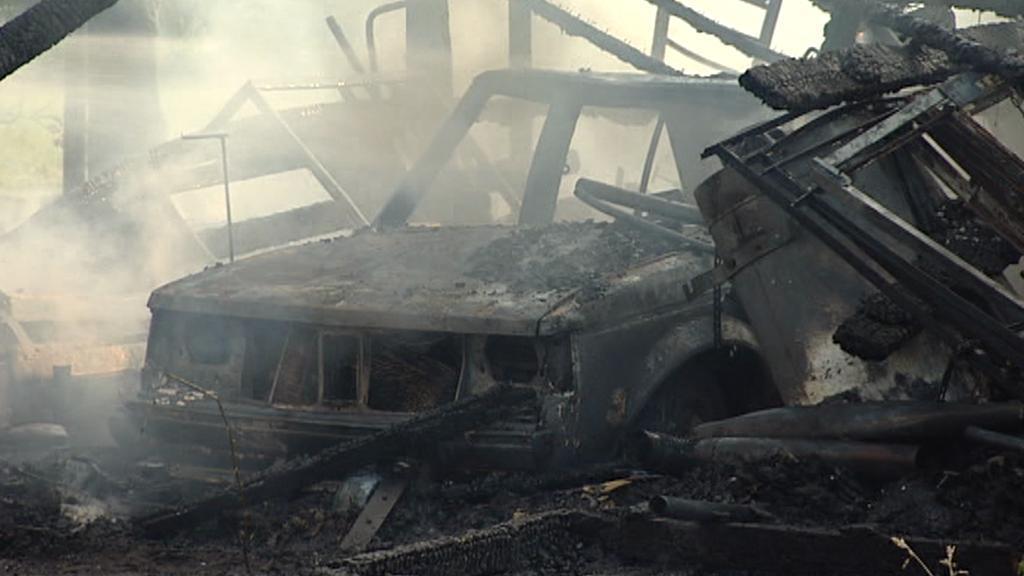 Požár v Libuši
