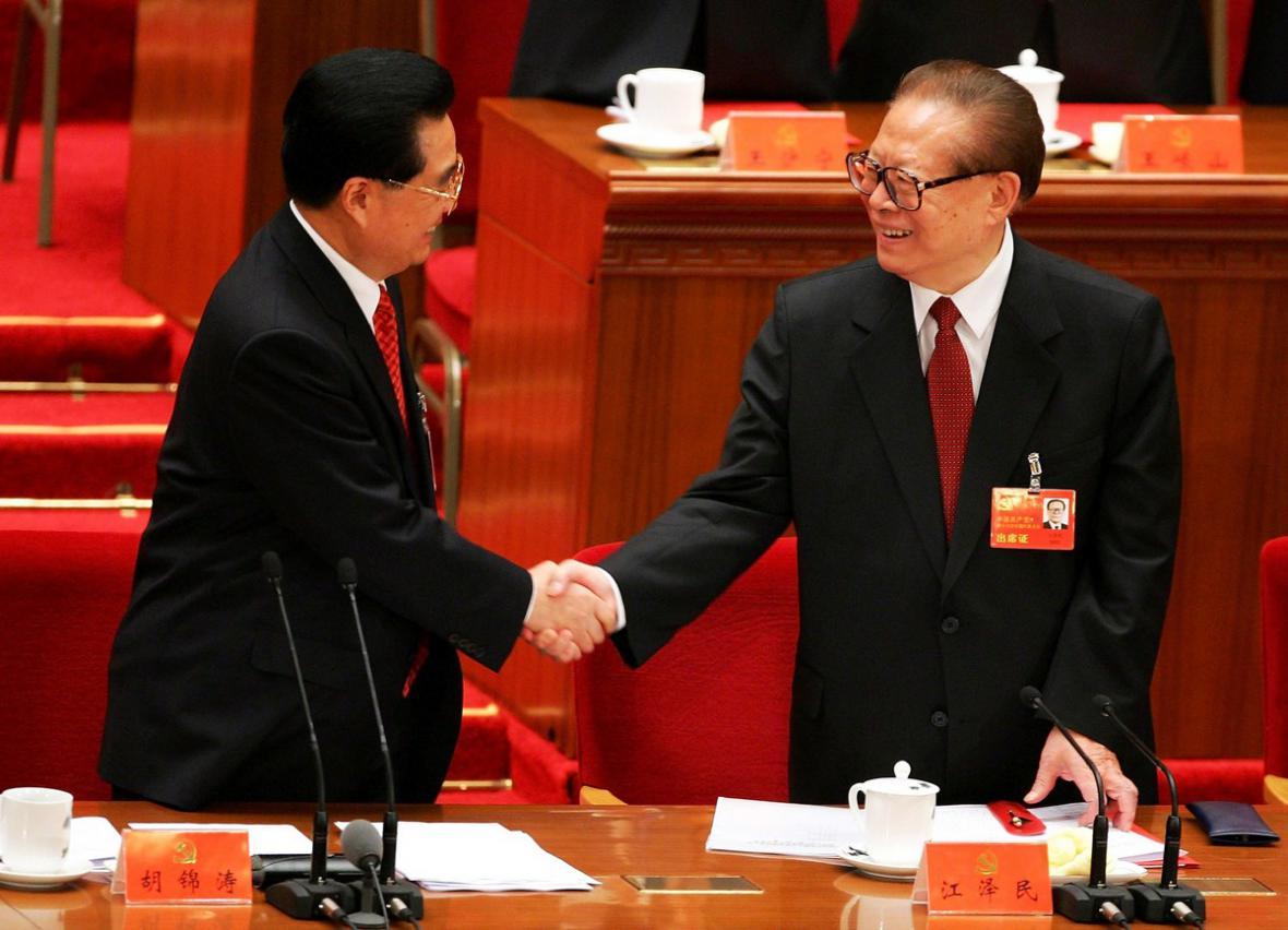 Ťiang Ce-min a Chu Ťin-tchao