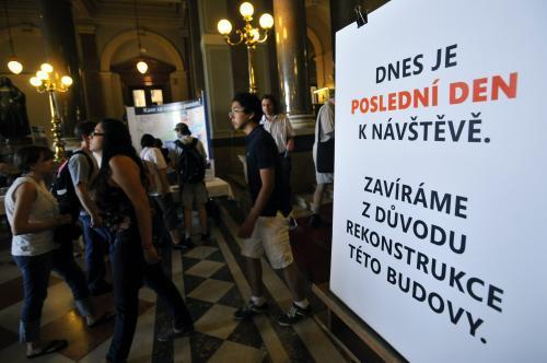 Poslední otevření Pantheonu Národního muzea před rekonstrukcí