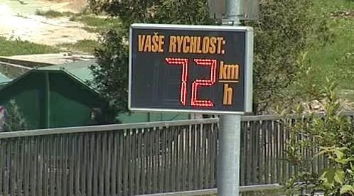 Překročení rychlosti
