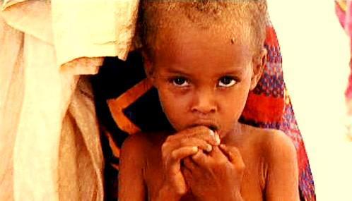 Somálské dítě