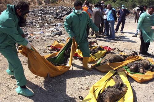 Oběti syrského násilí