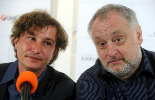 Martin Šulík a Marek Leščák