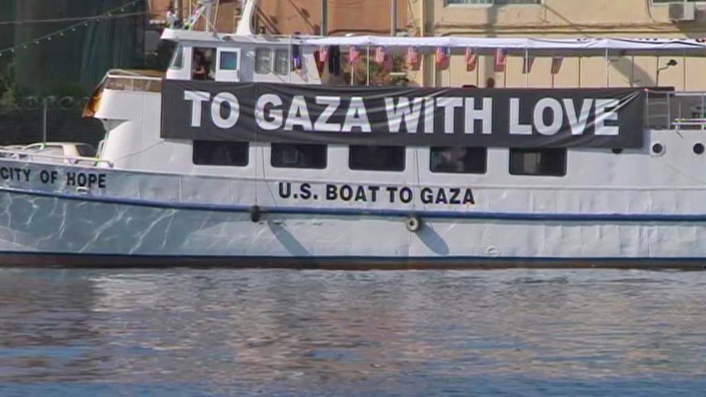 Plavidlo mezinárodní flotily pro Gazu