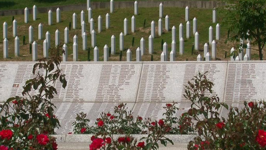 Památník v Srebrenici