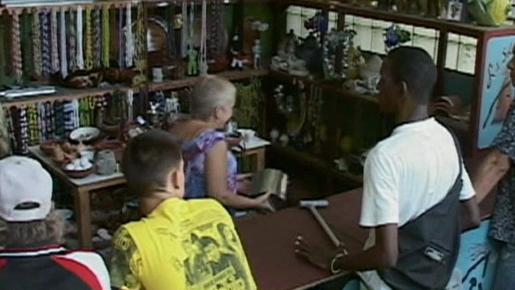 Obchod na Kubě