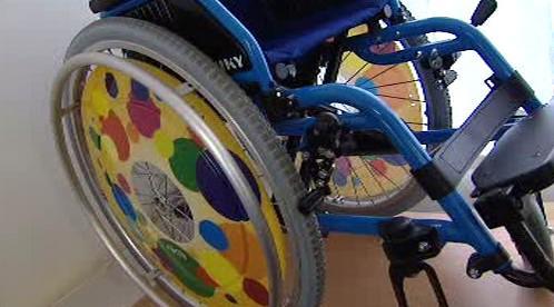 Vozík pro invalidy