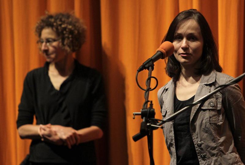 Zuzana Liová (vpravo)