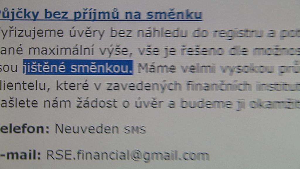 Půjčka na směnku