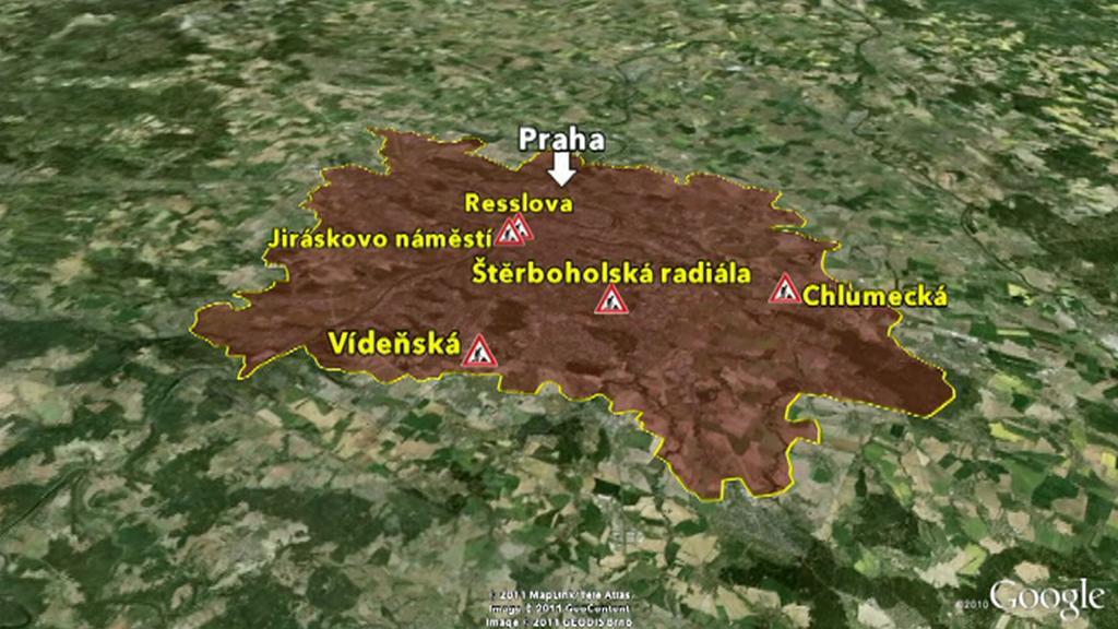 Největší uzavírky v Praze