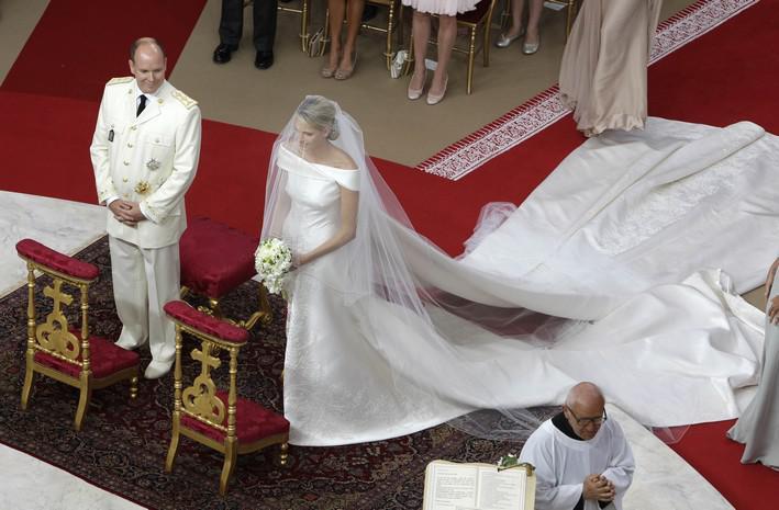 Královská svatba v Monaku