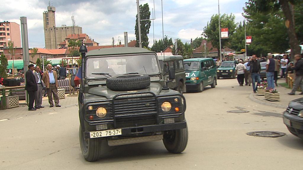 Jednotky KFOR v Kosovu
