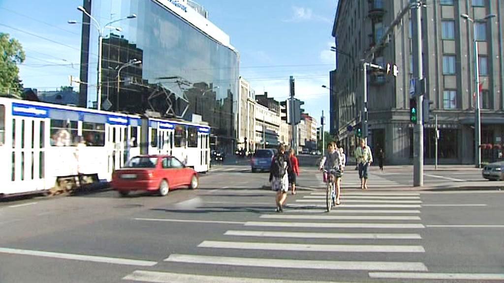 Obyvatelé estonské Narvy