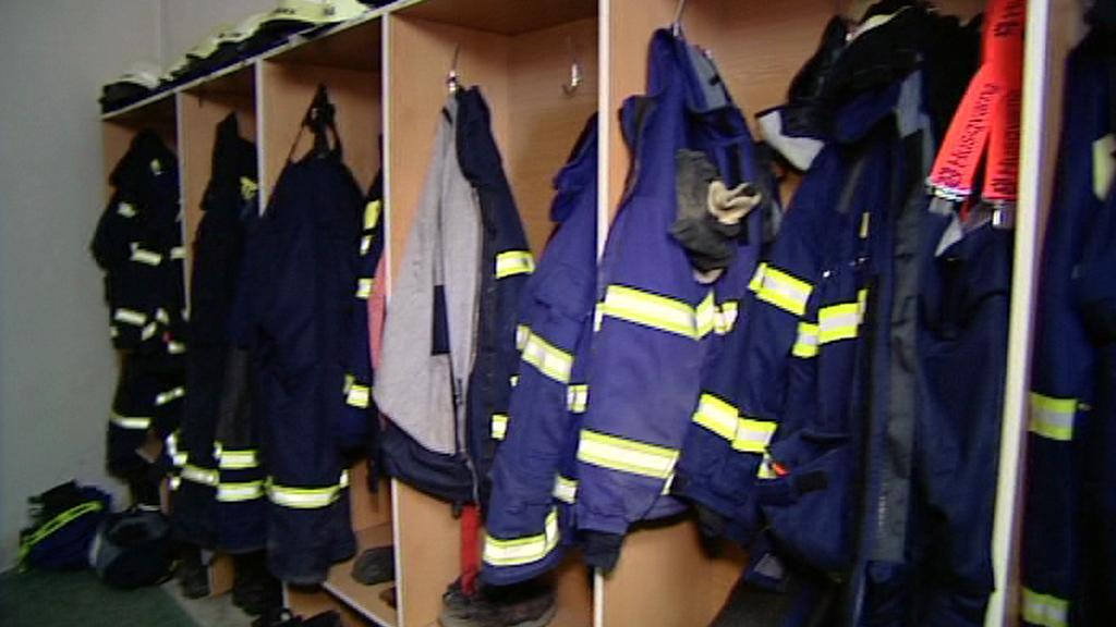 Výstroj dobrovolných hasičů