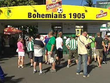 Fanoušci Bohemians 1905