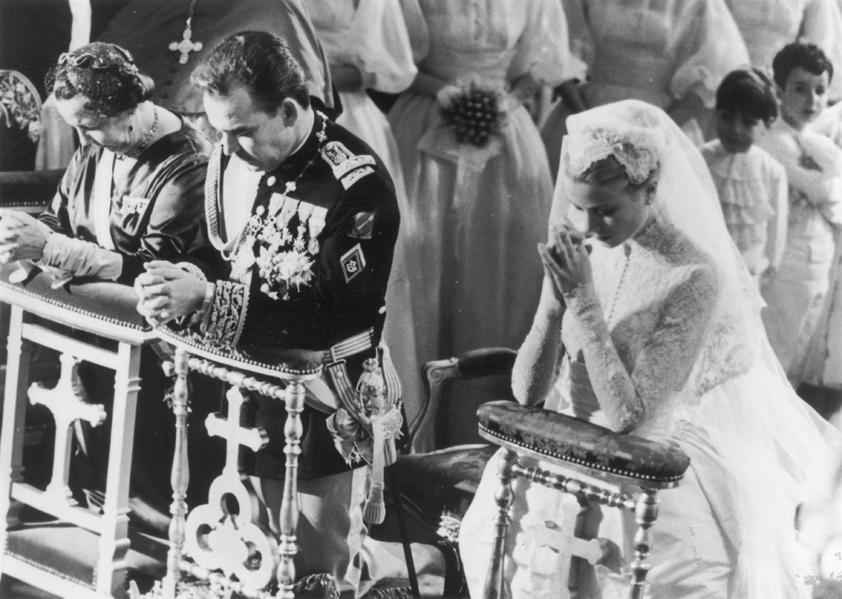Svatba Grace Kellyové a monackého knížete Rainiera III.