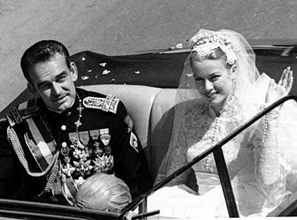 Kníže Rainier III. a Grace Kellyová
