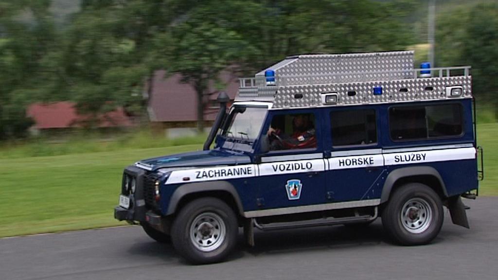 Záchranné vozidlo Horské služby