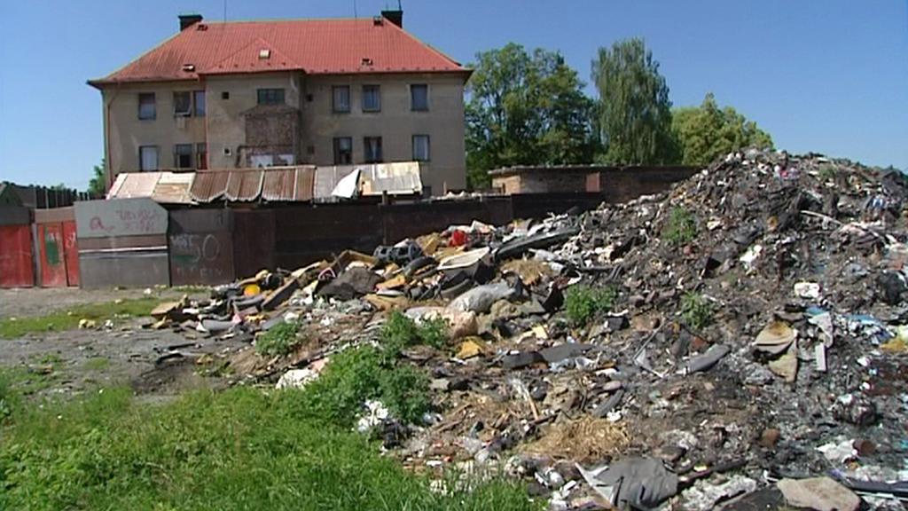 Skládka v Českém Meziříčí