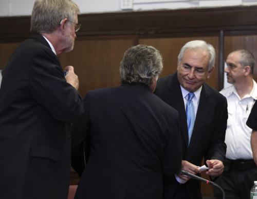 Soudce propustil Strausse-Kahna z domácího vězení