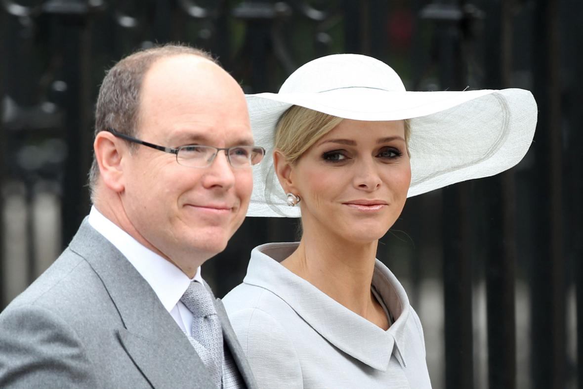 Kníže Albert II. a Charlene Wittstocková