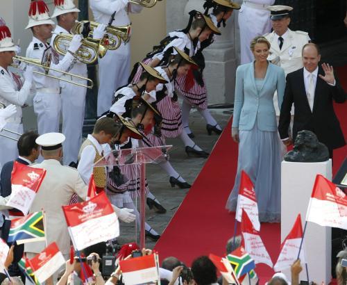 Svatba knížete Alberta II. a Charlene Wittstockové