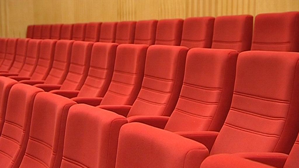 Zrekonstruovaný sál v hotelu Thermal