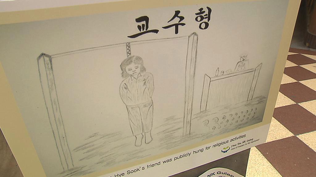 Kresby Hesu Kimové vypovídají o hrůzách v korejských pracovních táborech