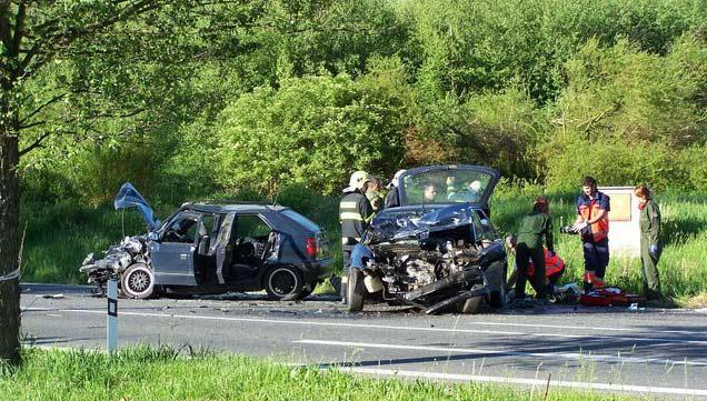 Následky tragické nehody