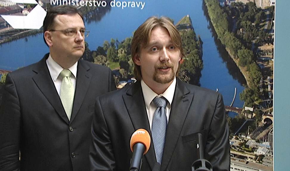 Petr Nečas a Pavel Dobeš