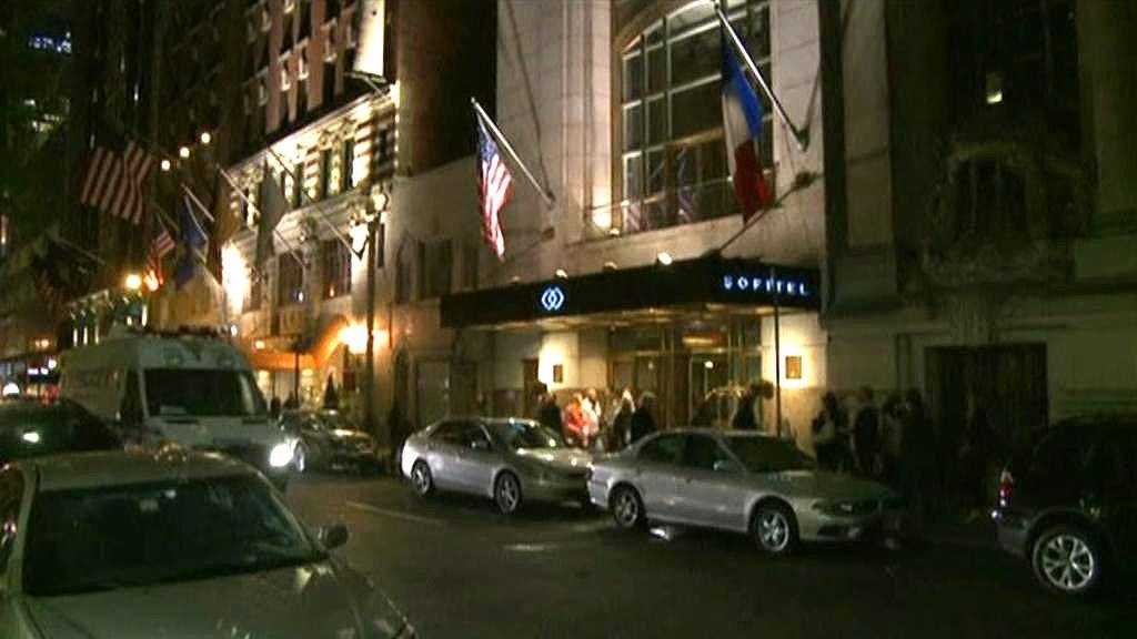Hotel, ve kterém měl Dominique Strauss-Kahn napadnout pokojskou