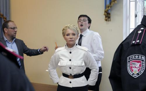 Julia Tymošenková před soudem