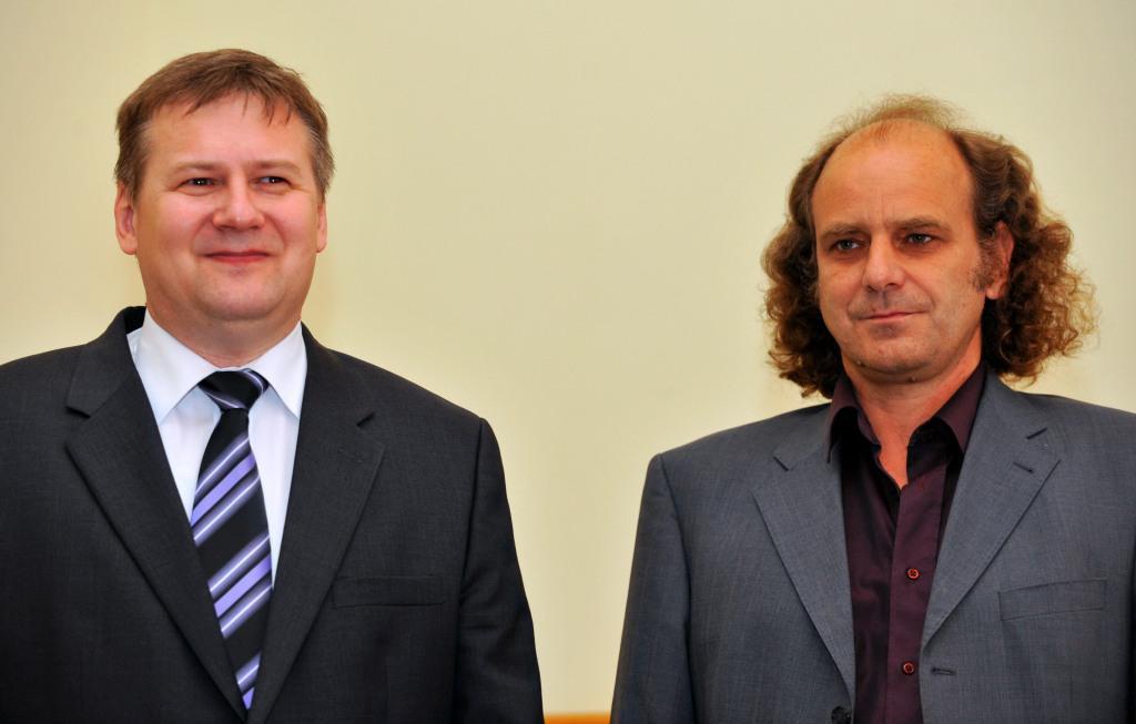 Jiří Homola a Martin Hof