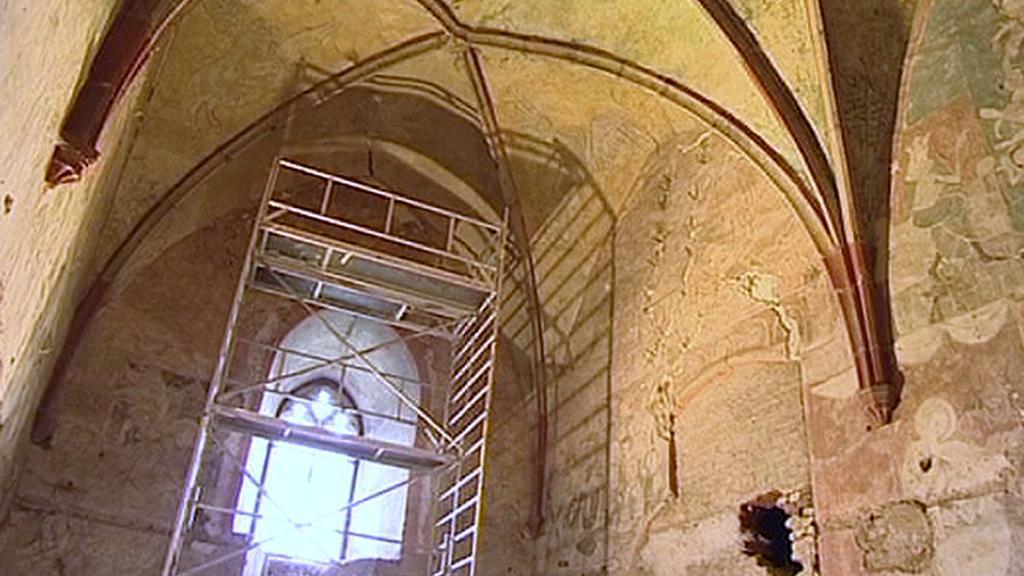 Jeden ze sálů hradu Bečov