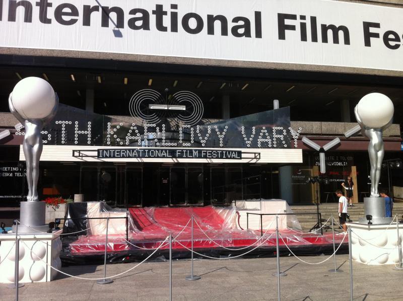 Přípravy na 46. MFF Karlovy Vary